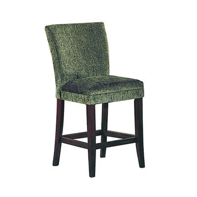 Achillea Counter Height Chair Olive Chenille - Homelegance