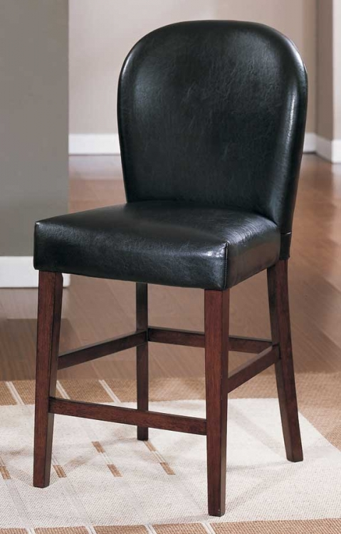 Europa Counter Height Chair Dark Brown