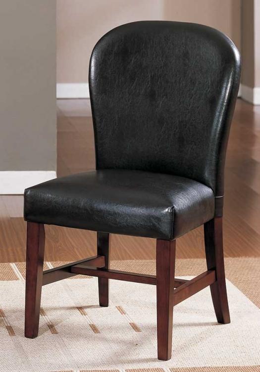 Europa Parson Chair Dark Brown