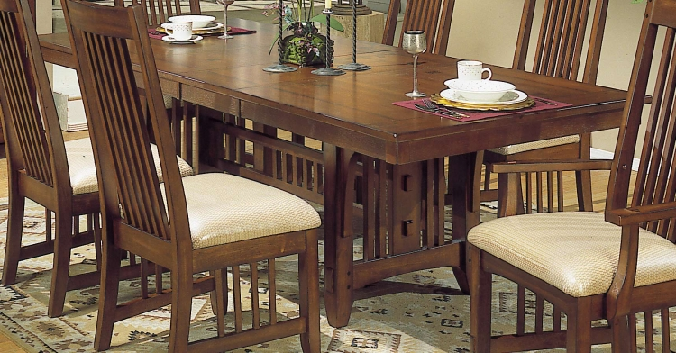 Arts and Craft Rectangular Dining Table