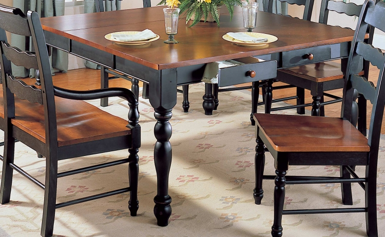 Sedgefield Dining Table with Drawers and Extension