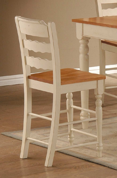 Sedgefield Counter Stool in White