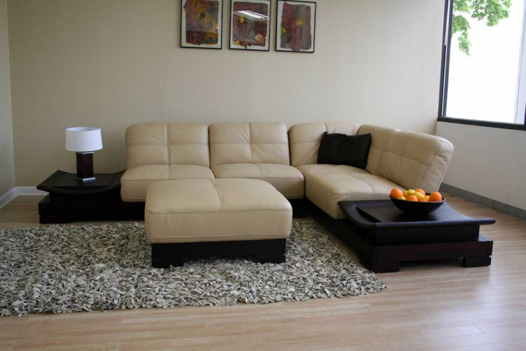 753 Leather Sectional Sofa Set - Wholesale Interiors