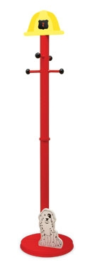 Fire Truck Clothes Pole