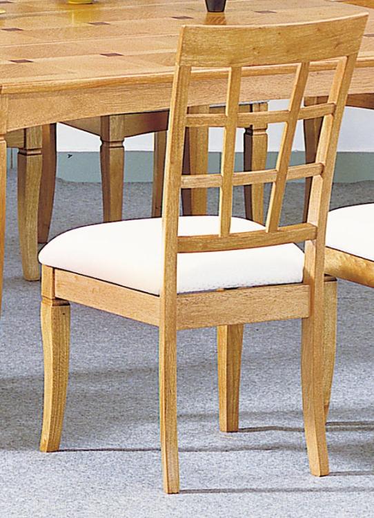 Ash Walnut Side Chair