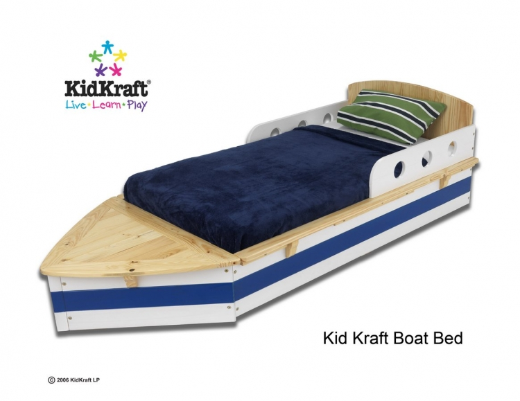 Boat Toddler Cot