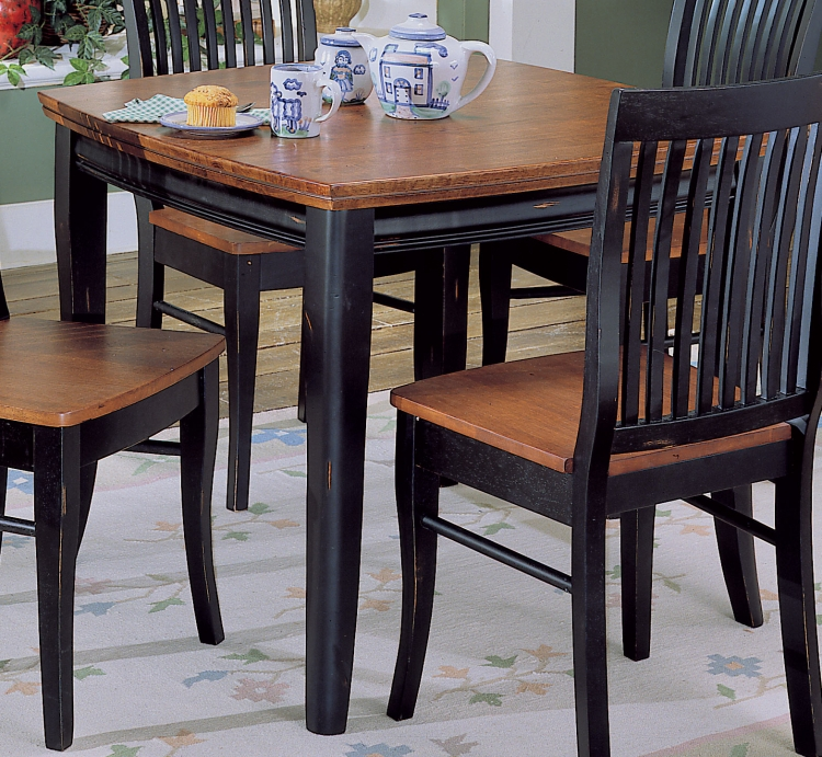 Liz Dining Table with Shaped Top