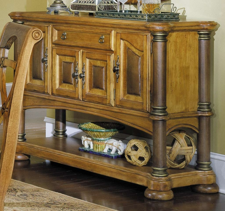 Homelegance Sahara Server with Storage