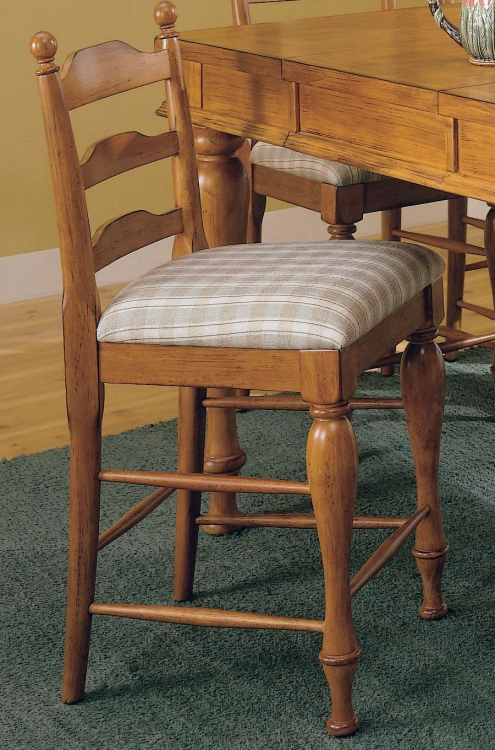 Casual Moments Pub Chair Pine Finish