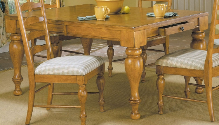 Casual Moments Dining Table Antique Pine