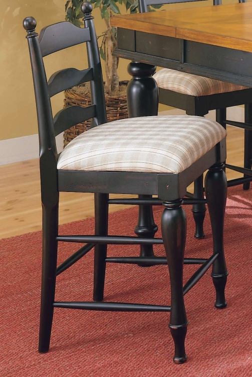 Casual Moments Counter Chair Antique Black