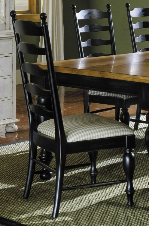 Casual Moments Side Chair Antique Black