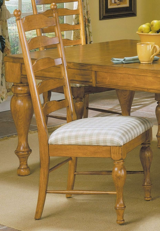 Casual Moments Side Chair Antique Pine