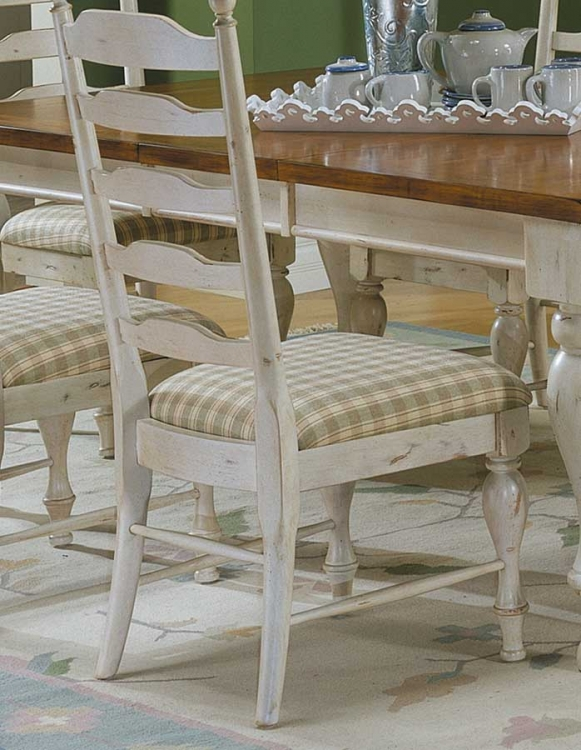 Casual Moments Side Chair Antique White
