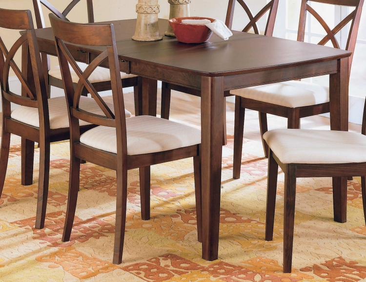 Vermont Dining Table With Butterfly Leaf