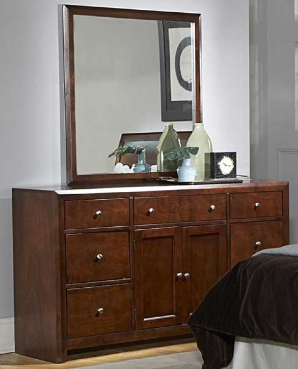 Copley Night Stand-Dresser-Mirror Package - Homelegance
