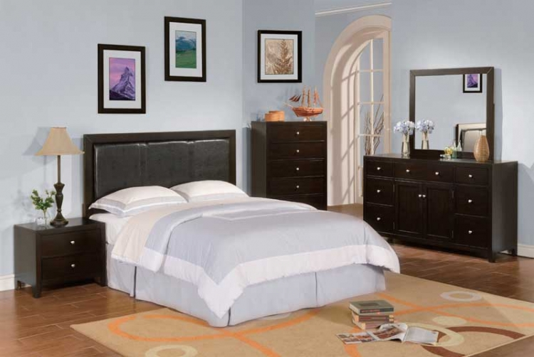 Caldwell PU Bedroom Collection - Homelegance