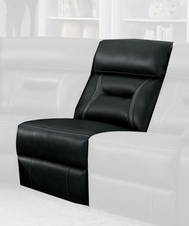 Amite Armless Chair - Dark Gray