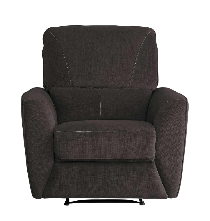 Dowling Reclining Chair - Chocolate