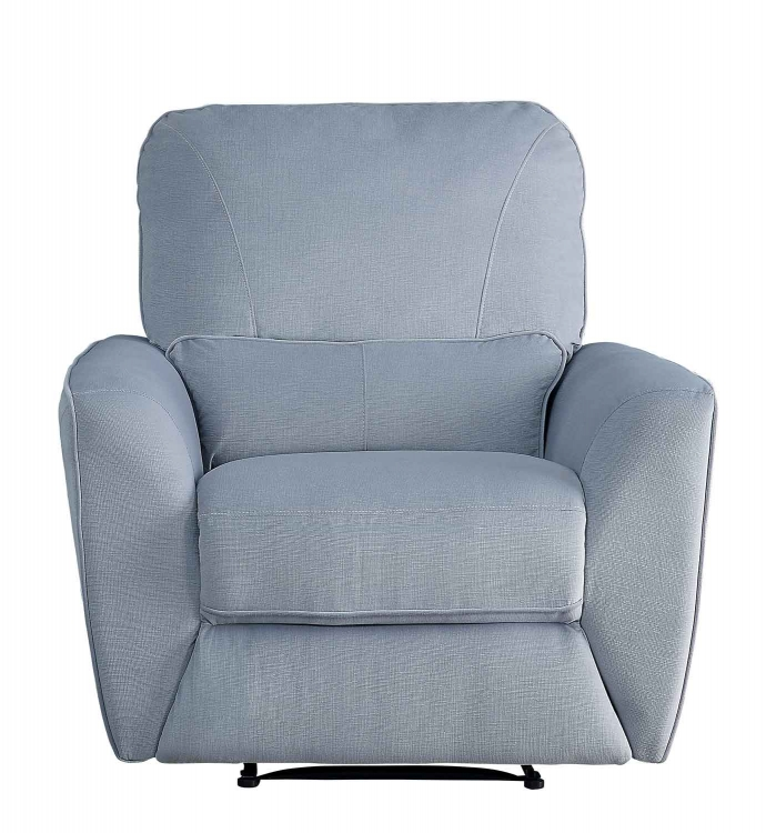 Dowling Reclining Chair - Light Gray