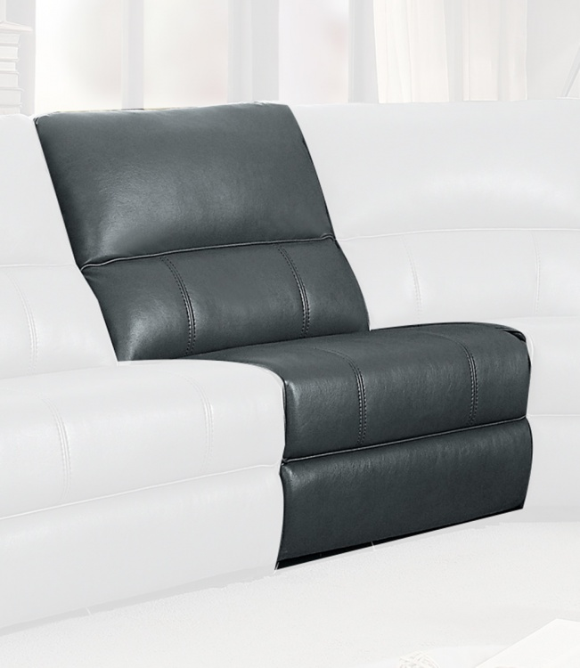 Falun Armless Chair - Gray