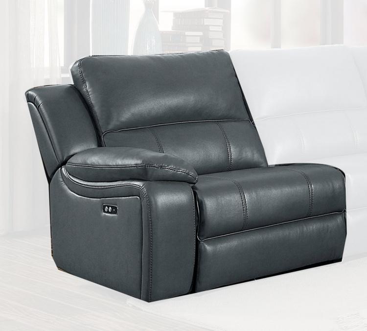 Falun Power Left Side Reclining Chair - Gray