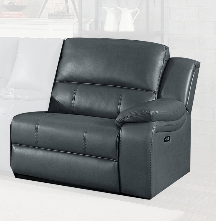 Falun Power Right Side Reclining Chair - Gray