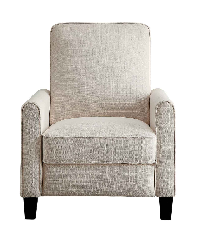 Darcel Push Back Reclining Chair - Beige