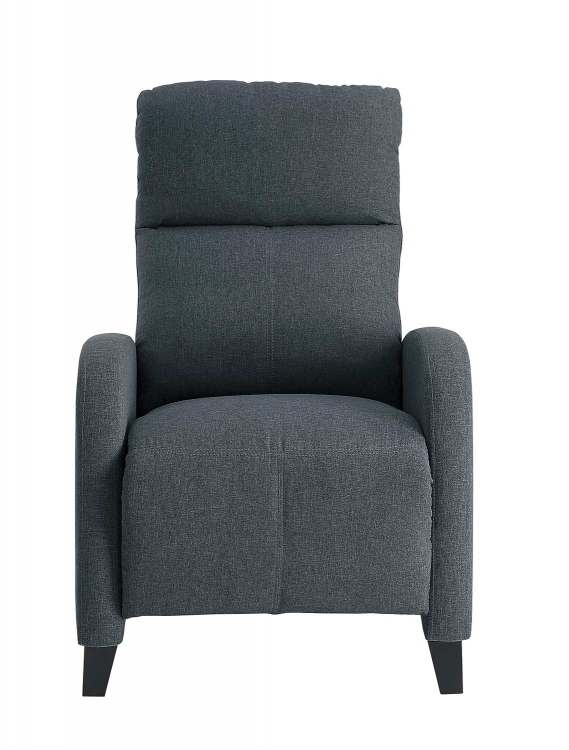 Antrim Push Back Reclining Chair - Gray
