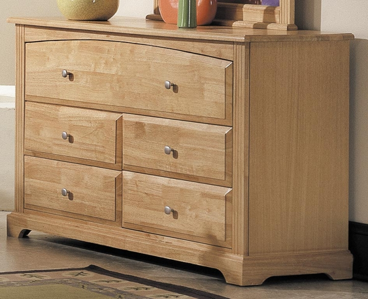 Truckee 5 Drawer Dresser - Maple - Homelegance