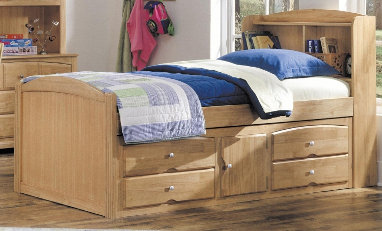 Truckee Captain Bed - Maple - Homelegance