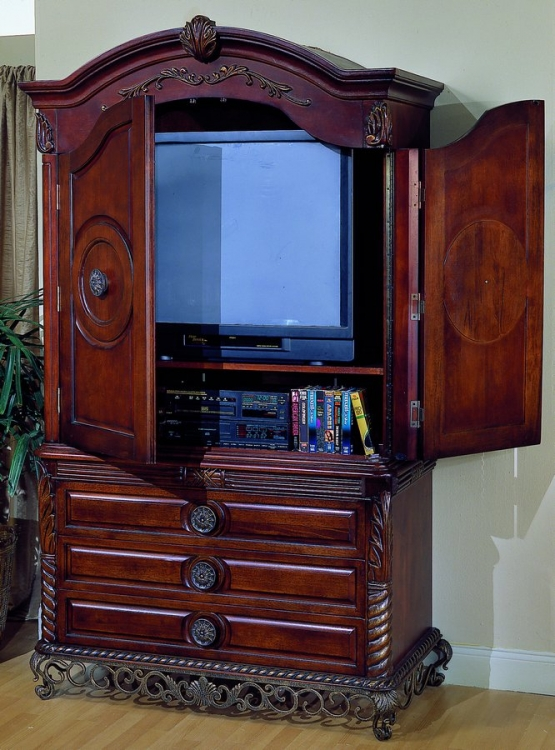 Madrid TV Armoire with Breakaway Doors