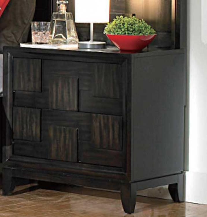 Balboa Square Night Stand - Homelegance