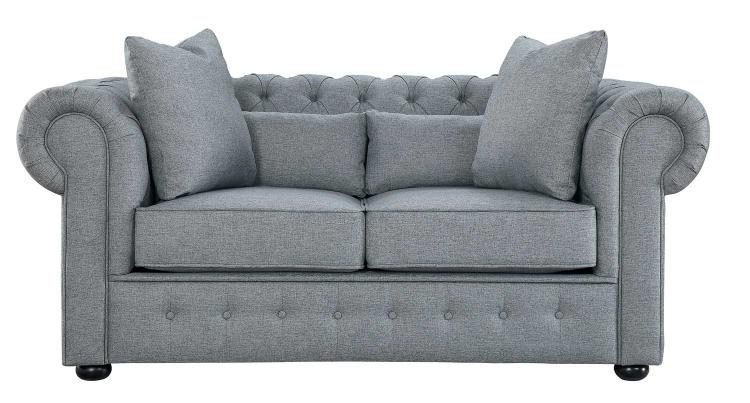 Savonburg Love Seat - Gray