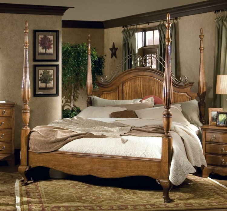 Americana Poster Bed