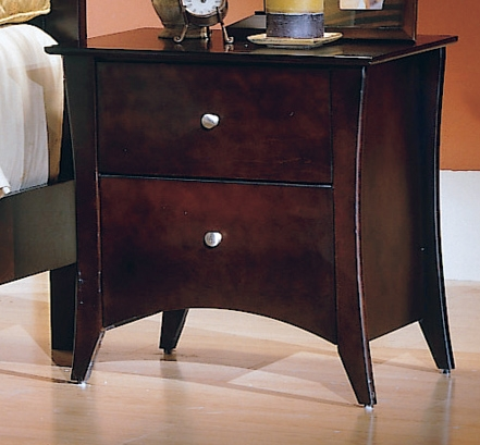 Borgeois Night Stand-Homelegance
