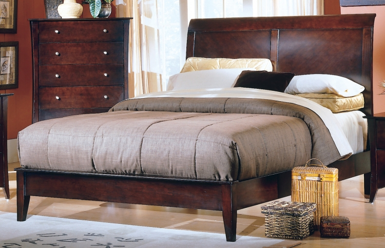 Borgeois Low Profile Bed