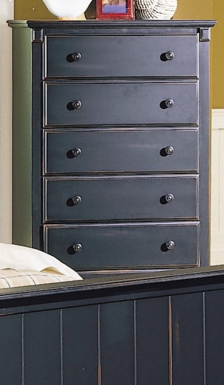Pottery Chest Black
