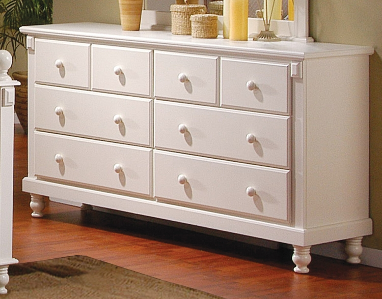 Pottery Dresser White-Homelegance
