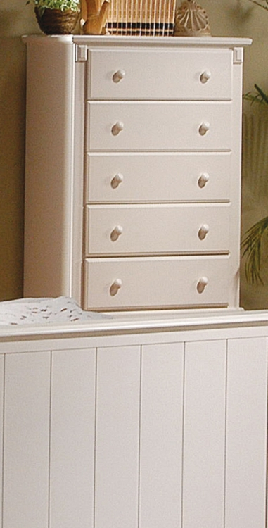 Pottery Chest White-Homelegance