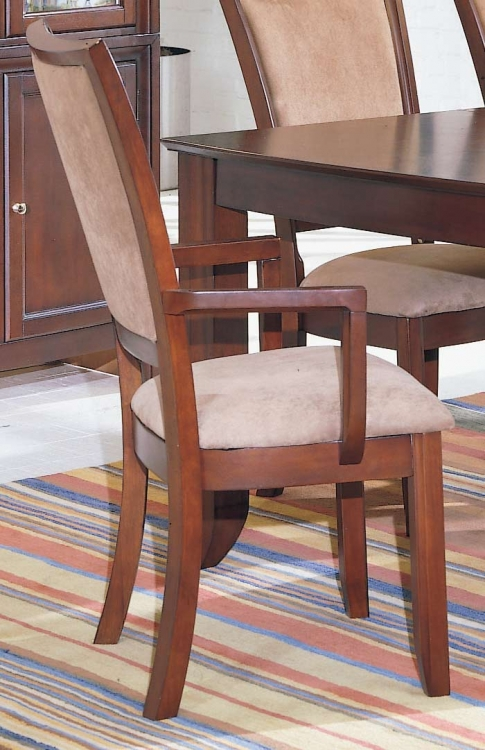 Capria Arm Chair Peat Microfiber