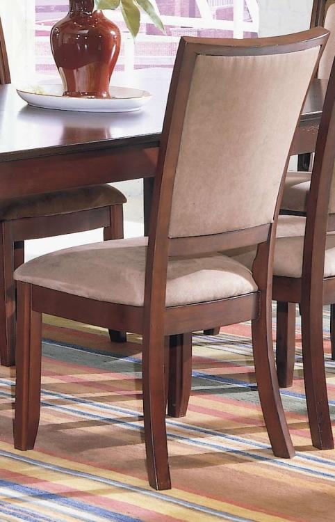 Capria Side Chair Peat Microfiber