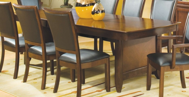 Capria Dining Table with Two 12in Leaves
