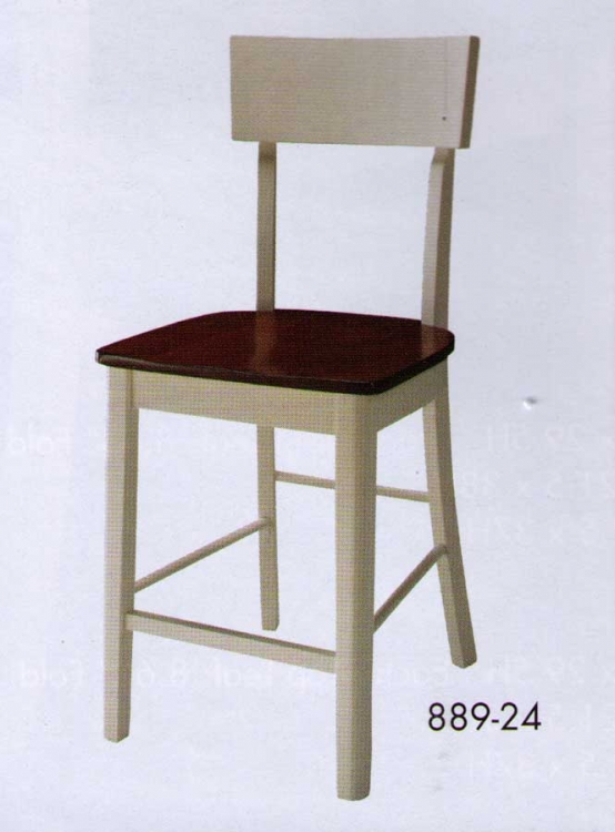 Hanna Counter Height Chair White