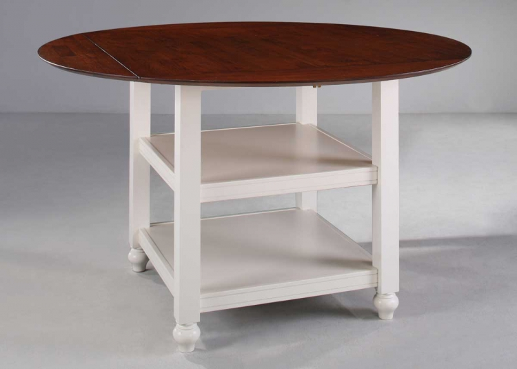 Hanna Counter Height Table White-Homelegance