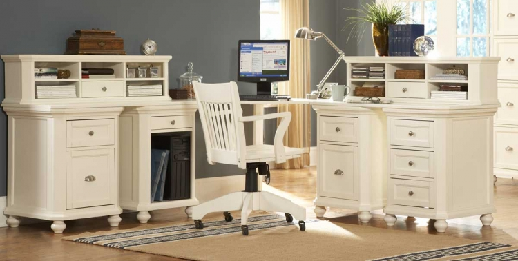 Hanna Corner Office White