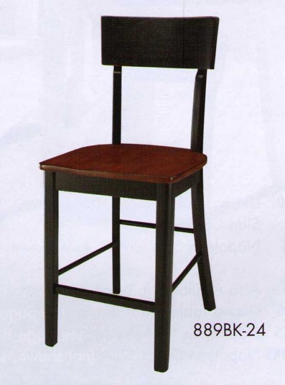 Homelegance Hanna Counter Height Chair Black