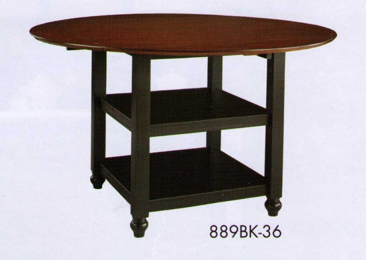 Hanna Counter Height Table Black