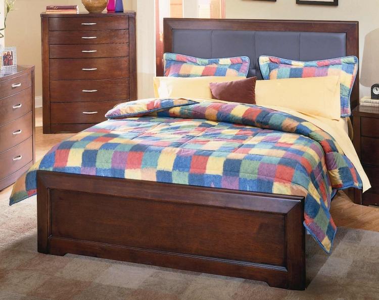 Parkside Leather Bed