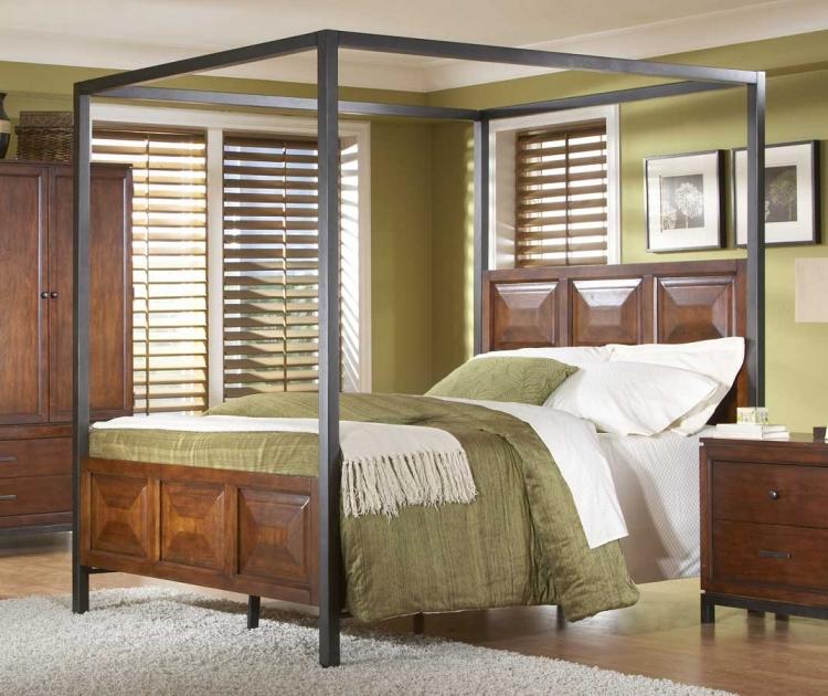 Skyline Canopy Bed